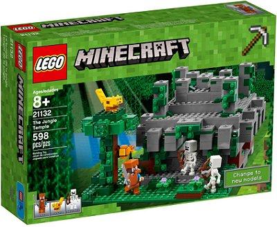LEGO MINECRAFT 21132 O TEMPLO DA SELVA