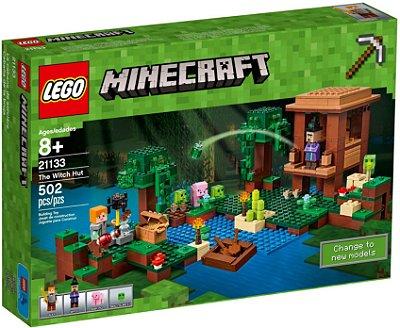 LEGO MINECRAFT 21133 A CABANA DA BRUXA
