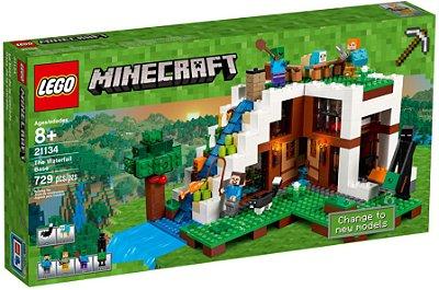 LEGO MINECRAFT 21134 O ESCONDERIJO DA CACHOEIRA