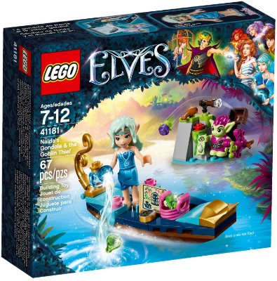 LEGO ELVES 41181 NAIDA'S GONDOLA & THE GOBLIN THIEF