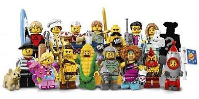 LEGO MINIFIGURES 71018 SÉRIE 17 (COLEÇÃO COMPLETA)