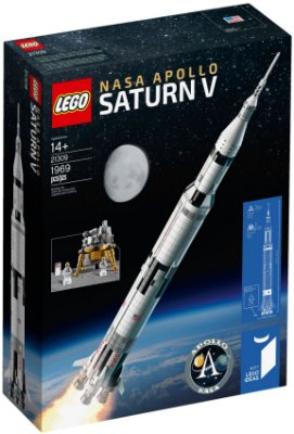 LEGO IDEAS 21309 SATURNO 5