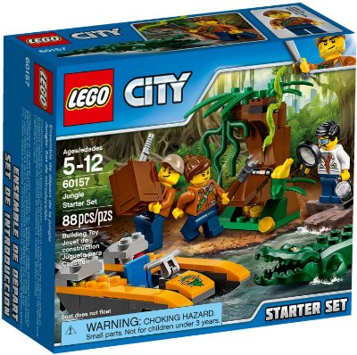 LEGO CITY 60157 JUNGLE STARTER PACK