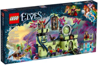 LEGO ELVES 41188 BREAKOUT FROM THE GOBLIN KING'S FORTRESS