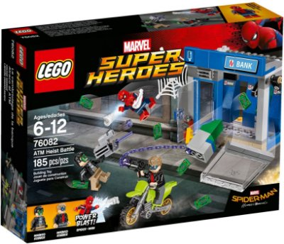 LEGO SUPER HEROES 76082 ATM HEIST BATTLE