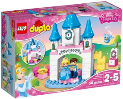 LEGO DUPLO 10855 CINDERELLA'S MAGICAL CASTLE