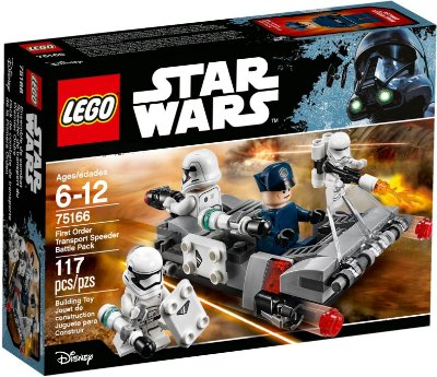 LEGO STAR WARS 75166 FIRST ORDER TRANSPORT BATLLE PACK
