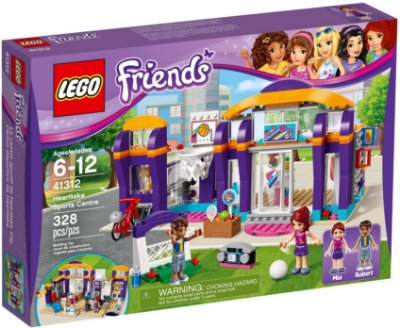 LEGO FRIENDS 41312 HEARTLAKE SPORT CENTER