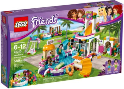 LEGO FRIENDS 41313 HEARTLE SUMMER POOL