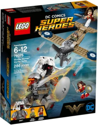 LEGO SUPER HEROES 76075 WONDER WOMAN WARRIOR BATTLE