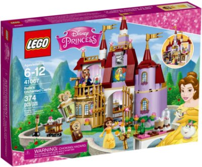 LEGO DISNEY 41067 BELLE'S ENCHANTED CASTLE