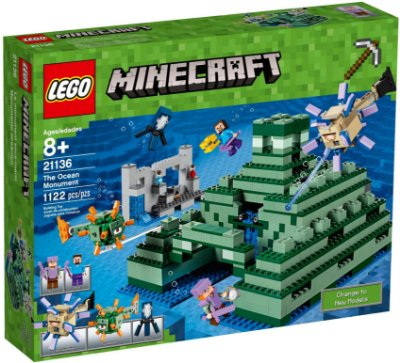 LEGO MINECRAFT 21136 THE OCEAN MONUMENT