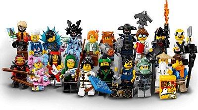 LEGO MINIFIGURES 71019 LEGO NINJAGO MOVIE (COLEÇÃO COMPLETA)