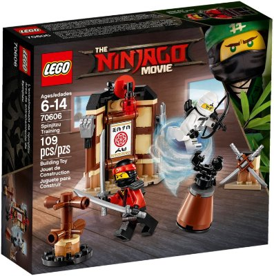 LEGO NINJAGO THE MOVIE 70606 SPINJITZU TRAINING