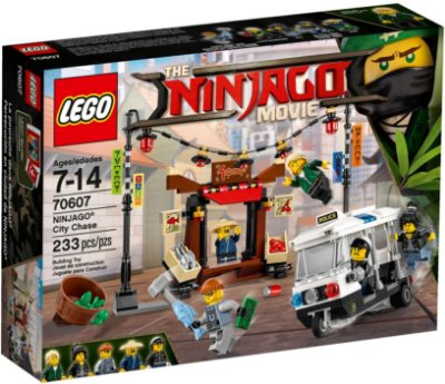 LEGO NINJAGO THE MOVIE 70607 NINJAGO CITY CHASE