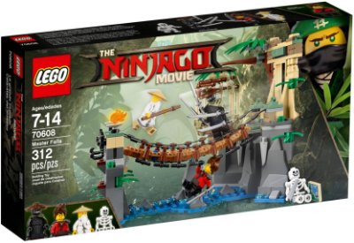 LEGO NINJAGO THE MOVIE 70608 MASTER FALLS