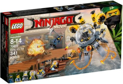 LEGO NINJAGO THE MOVIE 70610 FLYING JELLY SUB