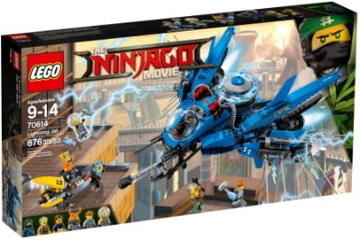 LEGO NINJAGO THE MOVIE 70614 LIGHTNING JET