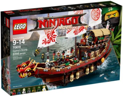 LEGO NINJAGO THE MOVIE 70618 DESTINY'S BOUNTY