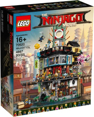 LEGO NINJAGO THE MOVIE 70620 NINJAGO CITY