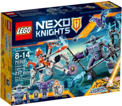 LEGO NEXO KNIGHTS 70359 LANCE VS. LIGHTNING