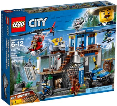 LEGO CITY 60174 MOUNTAIN POLICE HEADQUARTERS