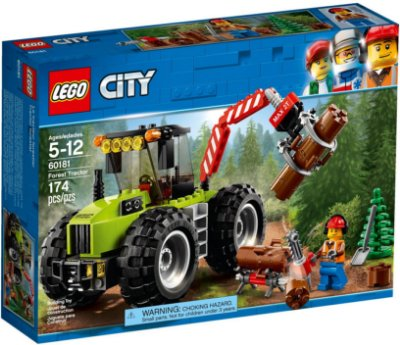 LEGO CITY 60181 FOREST TRACTOR