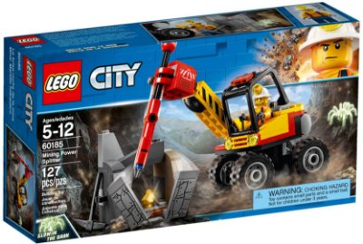 LEGO CITY 60185 MINING POWER SPLITTER