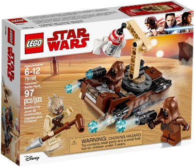 LEGO STAR WARS 75198 TATOOINE BATTLE PACK