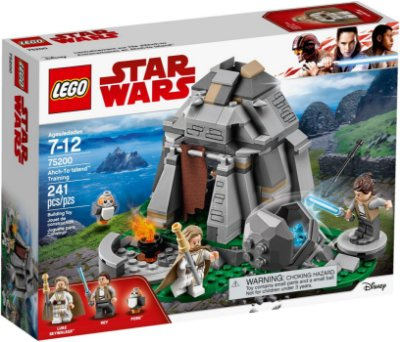 LEGO STAR WARS 75200 AHCH-TO ISLAND TRAINING
