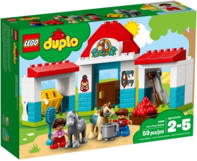 LEGO DUPLO 10868 FARM PONY STABLE