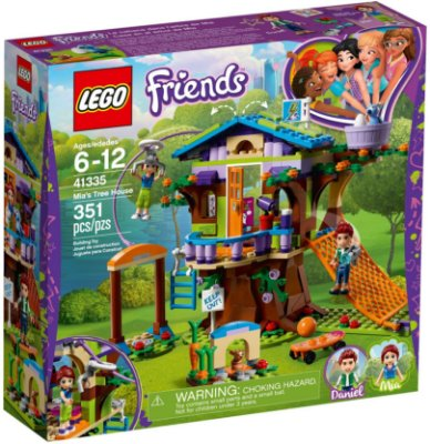 LEGO FRIENDS 41335 MIA'S TREE HOUSE
