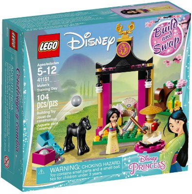 LEGO DISNEY 41151 MULAN'S TRAINING DAY