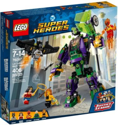 LEGO SUPER HEROES 76097 LEX LUTHOR MECH TAKEDOWN