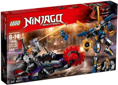 LEGO NINJAGO 70642 KILLOW VS SAMURAI X