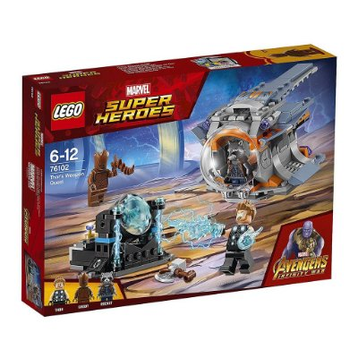LEGO SUPER HEROES 76102 THOR'S WEAPON QUEST