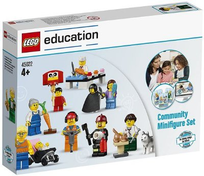 LEGO EDUCATION 45022 COMMUNITY MINIFIGURE SET