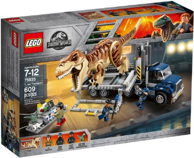 LEGO JURASSIC WORLD 75933 T.REX TRANSPORT