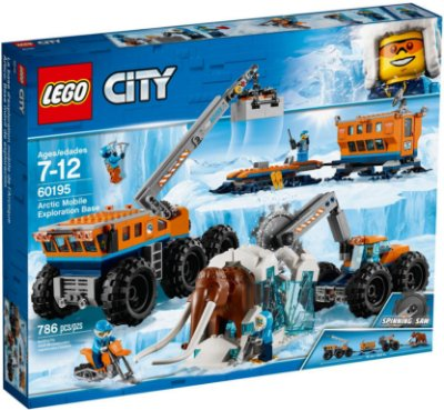 LEGO CITY 60195 ARCTIC MOBILE EXPLORATION TEAM
