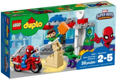 LEGO DUPLO 10876 SPIDER-MAN & HULK ADVENTURES
