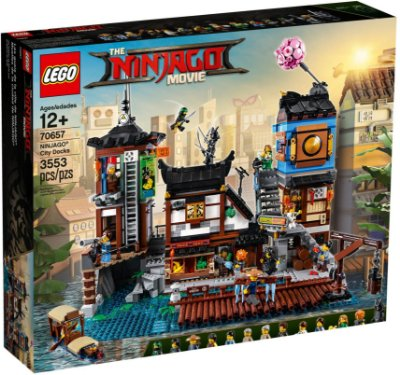 LEGO NINJAGO THE MOVIE 70657 NINJAGO CITY DOCKS