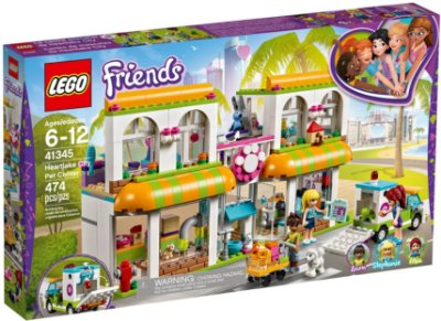 LEGO FRIENDS 41345 HEARTLAKE CITY PET CENTRE