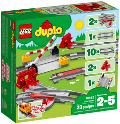 LEGO DUPLO 10882 TRAIN TRACKS
