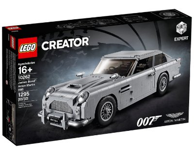 LEGO CREATOR 10262 JAMES BOND ASTON MARTIN DB5