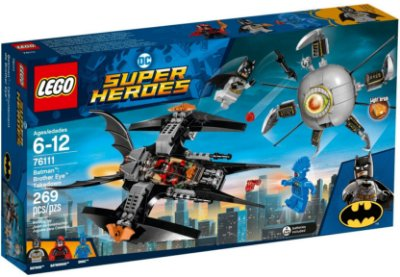 LEGO SUPER HEROES 76111 BATMAN: BROTHER EYE TAKEDOWN