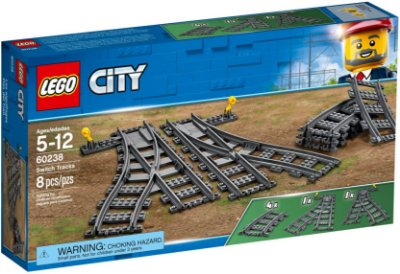 LEGO CITY 60238 SWITCH TRACKS