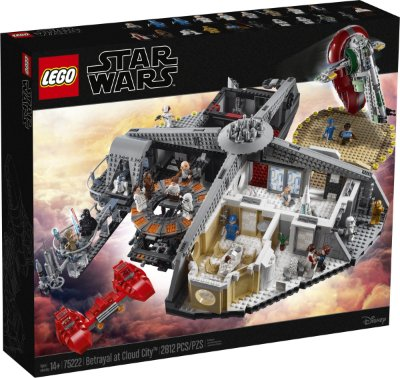 LEGO STAR WARS 75222 BETRAYAL AT CLOUD CITY