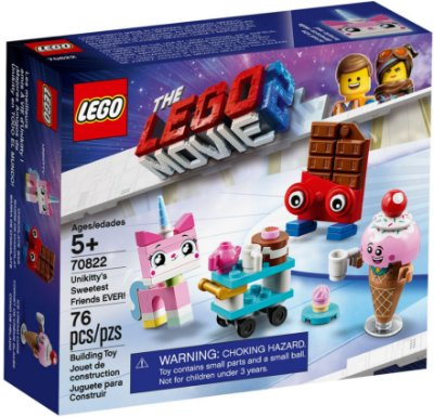 LEGO MOVIE 2 70822 UNIKITTY'S SWEETEST FRIENDS EVER
