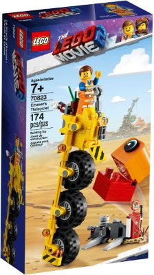 LEGO MOVIE 2 70823 EMMET'S THRICYCLE
