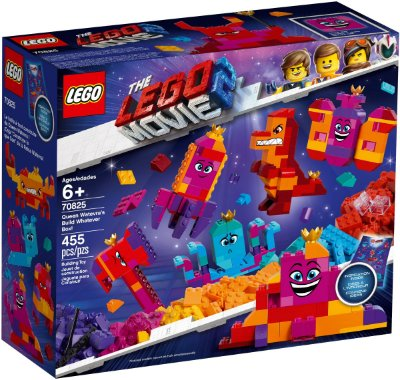 LEGO MOVIE 2 70825 QUEEN WATEVRA'S BUILD WHATEVER BOX
